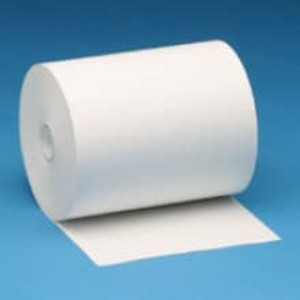"4 3/8"" x 328' Thermal Receipt Paper Rolls (24 Rolls) - T438-328"
