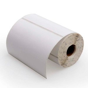 """4"""" x 3"""" Direct Thermal Mobile Printer Labels, 0.75"""" Core, 200 Labels/Roll (36 Rolls) - L-RDT25-400300-075P"""