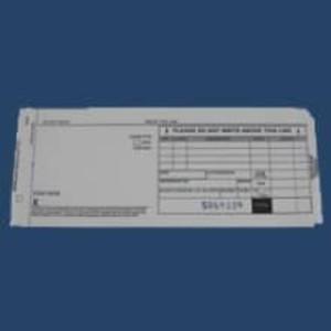 4-Part Long Sales Draft Imprinter Slips (4000 slips) - IS-4SL-40