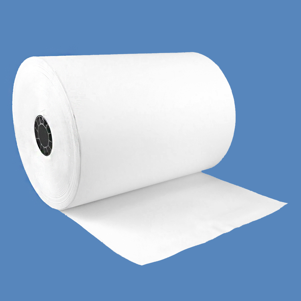 "4 1/4"" x 1100' Heavyweight Thermal Keno Paper, CSO, 3"" Core (8 Rolls)"