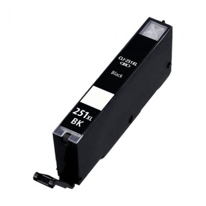 Canon 6448B001AA Compatible Black Ink Tank, 680 Page Yield - IJ-CLI251BKXL-CPT