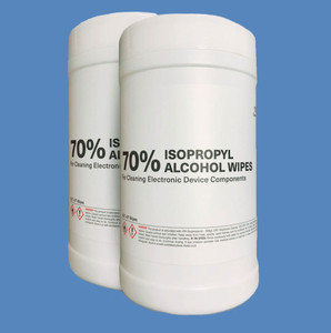 70% IPA Canister Cleaning Wipes, K2-WC100IPA70 (100 Wipes) - K2-WC100IPA70