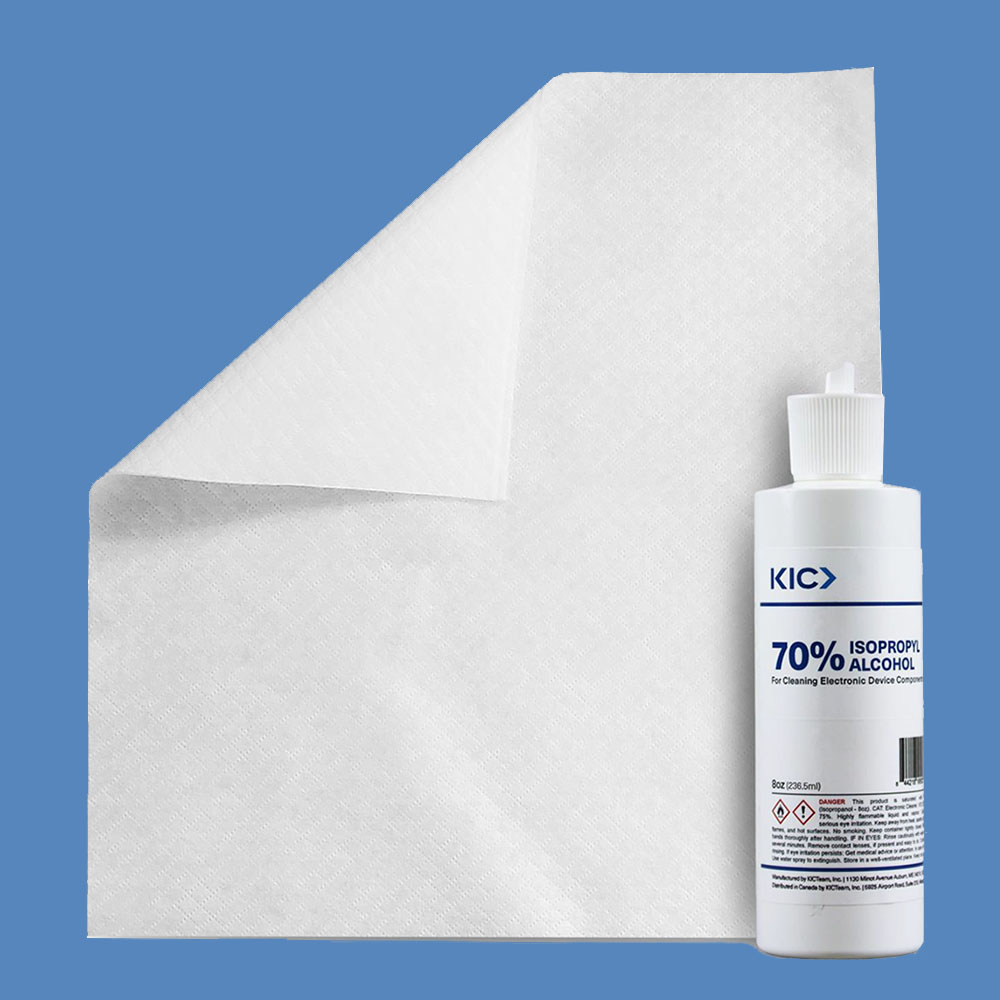 "70% IPA Cleaning Kit, K2-KEC70T2 (10"" x 11.8"" Wipes)"