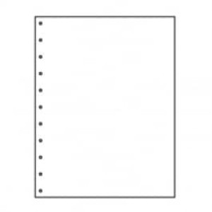 "8 1/2"" X 11"" 11-Hole 20# Velo Bind Paper, 2,500 sheets - LC-30770"