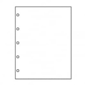 """8 1/2"""" X 11"""" 24# 5-Hole Punch Left Paper, 2,500 sheets - LC-30759"""