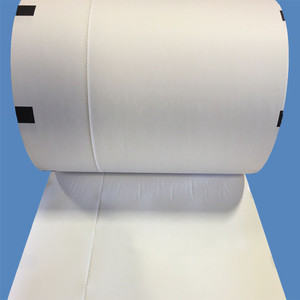 """8"""" Thermal Boarding Pass Paper, Left Side Perforated, Black Sense Marks (4 Rolls) - AIR-T28635SENPERF-L"""
