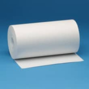 "8 7/16"" White Bond Teleprinter Paper Rolls (12 Rolls) - B8716-225"