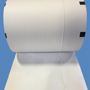 """8"""" Thermal Boarding Pass Paper, Right Side Perforated, Black Sense Marks (4 Rolls) - AIR-T28635SENPERF-R"""