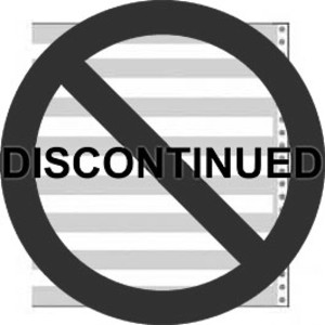 "8 1/2"" X 11"" 15# 1/2"" Green Bar Continuous Computer Paper (3500 Sheets) - CP-9801"