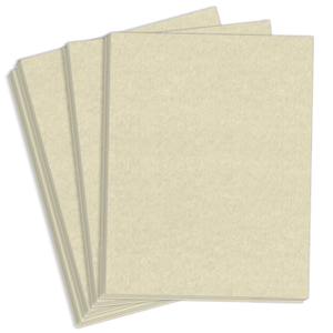 "8.5"" x 11"" Astroparche 65# Vellum Menu Paper - Natural (250 Sheets) - MEN-M55-725B"