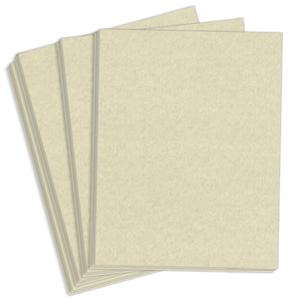 "8.5"" x 14"" Astroparche 60# Vellum Menu Paper - Natural (500 Sheets) - MEN-M22-632B"