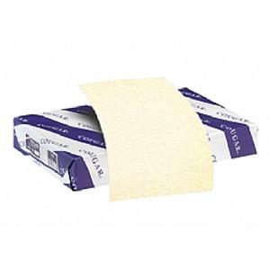 """8.5"""" x 14"""" Cougar Opaque Smooth 80# Menu Paper - Natural (250 Sheets) - MEN-M23-513B"""