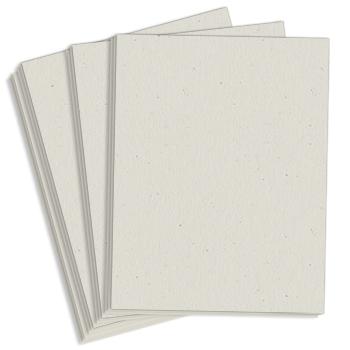 """8.5"""" x 14"""" Exact 67# Vellum Bristol Cover Menu Paper - Gray (250 Sheets)"""
