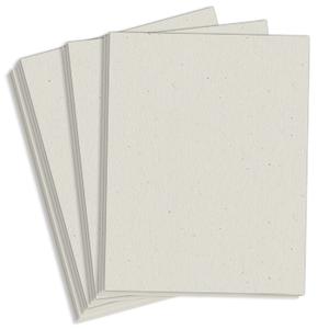 """8.5"""" x 14"""" Exact 67# Vellum Bristol Cover Menu Paper - Gray (250 Sheets) - MEN-M130-3203"""
