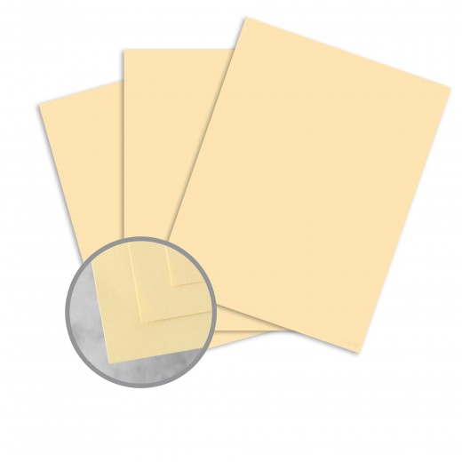 "8.5"" x 14"" Exact 67# Vellum Bristol Cover Menu Paper - Ivory (250 Sheets)"