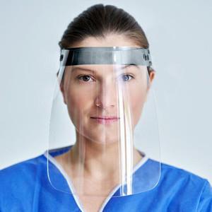 "9"" Clear Face Shields, Adjustable Headband (5 Shields) - AC-SHIELD-1"