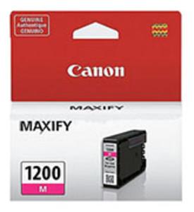 Canon 9197B001AA Magenta Ink Cartridge, 300 Page Yield - IJ-PGI1200M