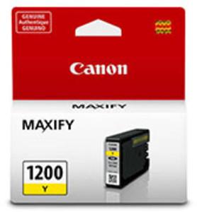 Canon 9234B001AA Yellow Ink Cartridge, 300 Page Yield - IJ-PGI1200Y