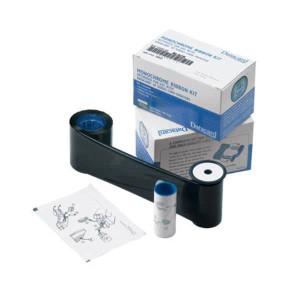 Datacard 532000-004 White Monochrome Ribbon Kit (1,500 prints) - R-DCD-532000004