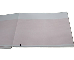 Mortara 9100-026-01 ECG/EKG Chart Recording Paper, 8.5 x 11 Z-Fold, 12 Pads - MP-9100-026-01
