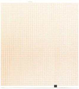 "Nihon Kohden Compatible PA9100Z Recording Chart Paper, 8.5"" x 11"", Z Fold, Red Grid Lines, 10/Pack - MP-PA9100Z"