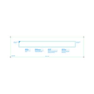 Adult Medical ID Wristband Laser Sheets, Clear Lamination (1500 Sheets) - L-WB-PLS-101AX