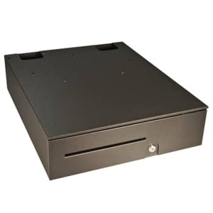 APG Series 100 Black Heavy Duty Cash Drawer - APG-T320-BL1616