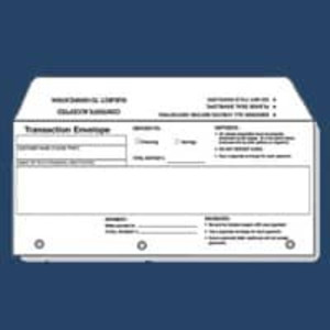 ATM Deposit Envelopes, 500 count - ATM-190-2500X-00