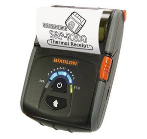 Bixolon SPP-R200iiiBK mPOS Mobile Receipt Printer - USB/Serial/Bluetooth, Black - BIX-SPP-R200IIIBK