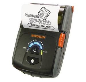 Bixolon SPP-R200iiiiK mPOS Mobile Receipt Printer with Auto Switch - USB/Serial/Bluetooth, Black - BIX-SPP-R200IIIIK