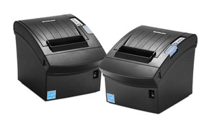 Bixolon SRP-350III Thermal Receipt Printer, Black, Power Supply, USB Cable, USB Interface - BIX-SRP-350IIICOG