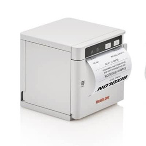 Bixolon SRP-Q302HW mPOS Thermal Receipt Printer with Sensor, Hub - WLAN Wifi, White - BIX-SRP-Q302HW