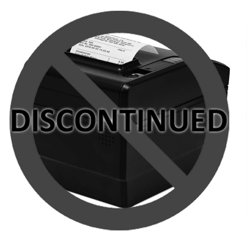 Bixolon SRP-S300LOBIK Liner-Free Restick Label Printer (USB/Bluetooth)