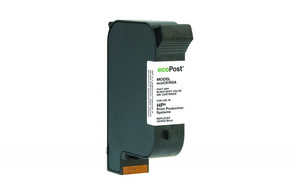 Black Postage Meter Ink Cartridge for HP C6195A (Remanufactured) - PM-ECOC6195A