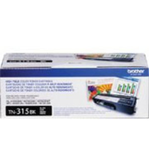Brother TN315 Black Toner Cartridge, High Yield, 6,000 Page Yield - TON-TN315BK