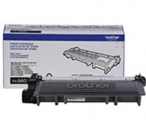 Brother TN660 Black Toner Cartridge, High Yield, 2,600 Page Yield - TON-TN660