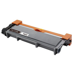 Brother TN660 Compatible Black Toner Cartridge, High Yield, 2,600 Page Yield - TON-TN660-CPT