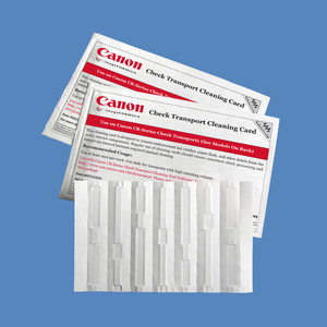 Canon Check Transport Cleaning Card with Waffletechnology KWCAN-C1B15WS (15 Cards)