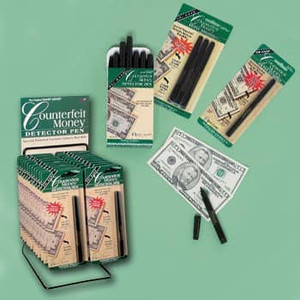 Counterfeit Money Detector Pen, 1 pen/pack