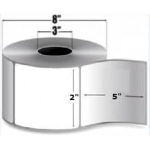 """Intermec Duratherm II, Direct Thermal Label, 2"""" X 5"""", 8 Rolls, #E23470 - HON-E23470"""