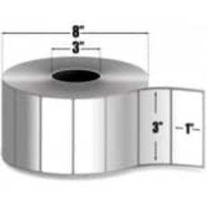 """Intermec Duratherm II, Direct Thermal Label, 3"""" X 1"""", 4 Rolls, #E01383 - HON-E01383"""