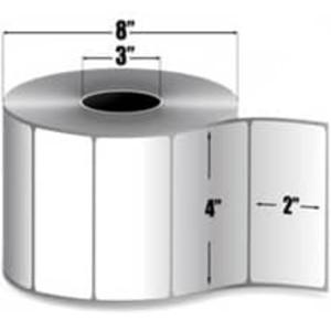 """Intermec Duratherm II, Direct Thermal Label, 4"""" X 2"""", 4 Rolls, #E14225 - HON-E14225"""