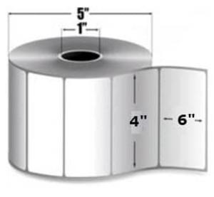 """Intermec Duratherm II, Direct Thermal Label, 4"""" X 6"""", 8 Rolls, #E25726 - HON-E25726"""
