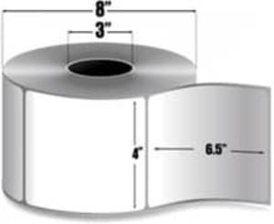 "Intermec Duratherm II, Direct Thermal Tag, 4"" X 6.5"", 8 Rolls, #E04204 - HON-E04204"
