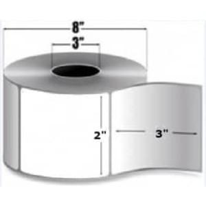 "Intermec Duratherm III, Direct Thermal Label, 2"" X 3"", 8 Rolls, #E14517DT - HON-E14517DT"