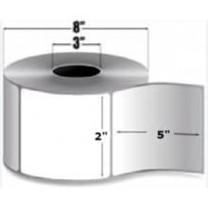 "Intermec Duratherm III, Direct Thermal Label, 2"" X 5"", 8 Rolls, #E14516DT - HON-E14516DT"