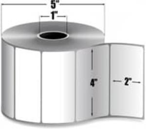 """Intermec Duratherm III, Direct Thermal Label, 4"""" X 2"""", 8 Rolls, #E15535 - HON-E15535"""