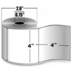 """Intermec Duratherm III, Direct Thermal Label, 4"""" X 4"""", 16 Rolls, #E27087 - HON-E27087"""