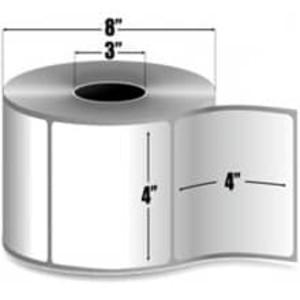 "Intermec Duratherm III, Direct Thermal Label, 4"" X 4"", 4 Rolls, #SF17266-BLANK - HON-SF17266-BLANK"