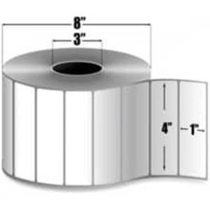 "Intermec Duratran II, Thermal Transfer Label, 4"" X 1"", 8 Rolls, #E06724 - HON-E06724"
